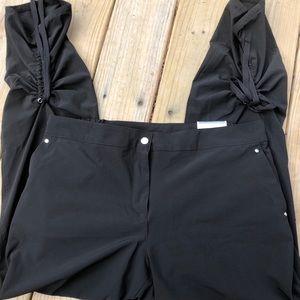 Chico's Black Stretch Zenergy Pants Sz 12
